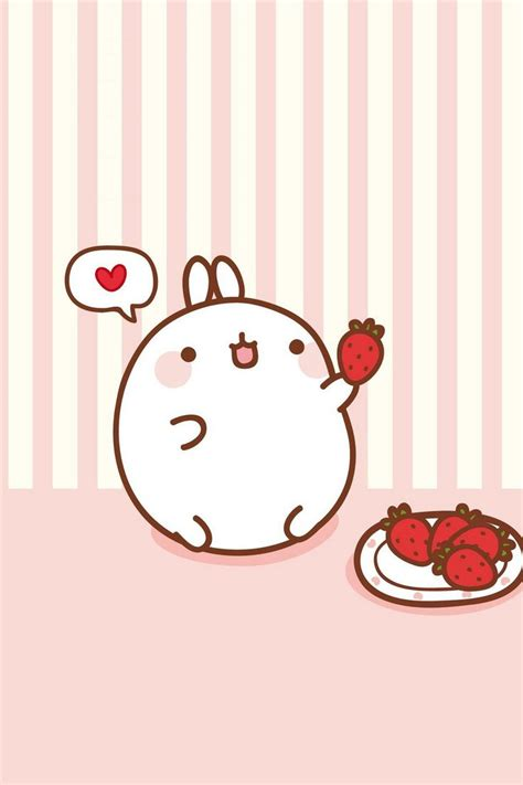 wallpaper cute molang molang find more super cute kawaii wallpapers for your