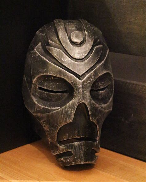 skyrim inspired priest mask handmade replica ebay