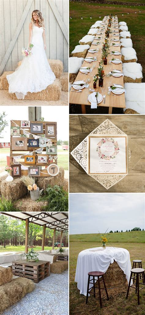 48 great ways make 2017 rustic weddings more elegant