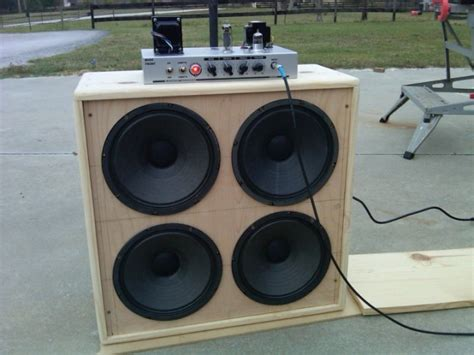 how to build a speaker cabinet desk diy bass guitar cabinet plans must see