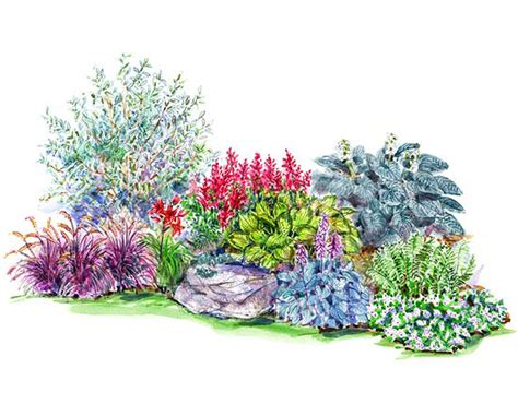 flower bed planner 16 free garden plans garden design ideas perennial garden