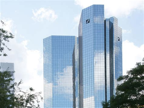 deutsche bank tower deutsche bank towers region frankfurt rhein