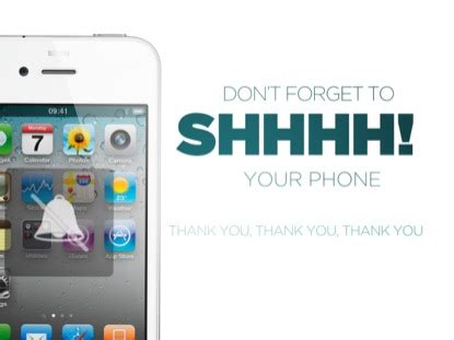 Erokawize Your Cell Phone by Silence Your Cell Phones In Church Images