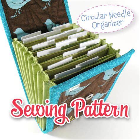 make your own circular knitting needles pdf sewing pattern circular needle organizer knitting