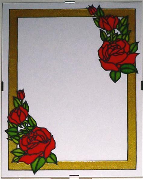 dipingere cornici pittura su vetro cornici