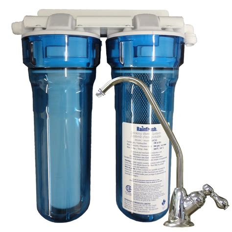under water filter system rainfresh 13 1 2 in under complete system lowe s canada
