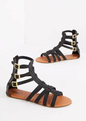 rue 21 gladiator sandals black tri buckled gladiator sandal flat sandals rue21