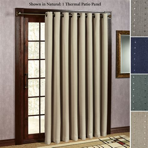 sliding door curtain a guide about sliding glass door curtains