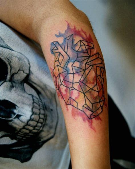tattoo geometric watercolor 21 geometric tattoo designs ideas design trends