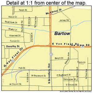 map of bartow florida bartow florida map 1203675