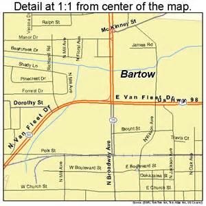 bartow florida map 1203675