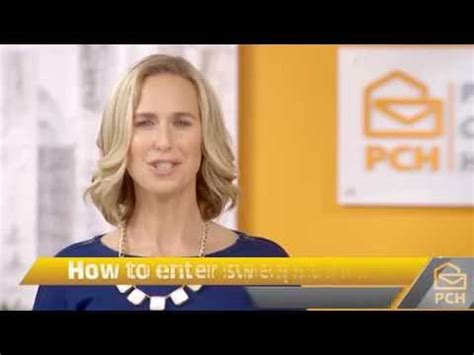 How To Enter Pch By Mail - pch february 27th 5 000 a week forever winner tamar doovi