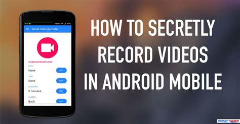 how to secretly record in android mobile - How To Record On Android