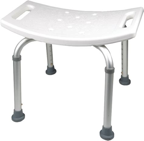 roscoe shower chair with back and handles bath and shower seats page 1 of 3