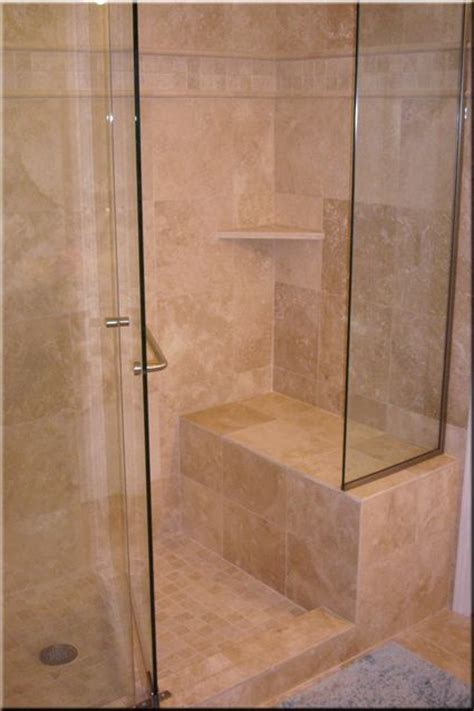 Shower Enclosure With Seat by Large Shower With Seat Janice S Bathrrom