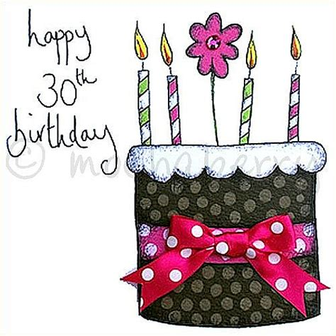 30th Birthday Cards 30th Birthday Birthday Greetings Card