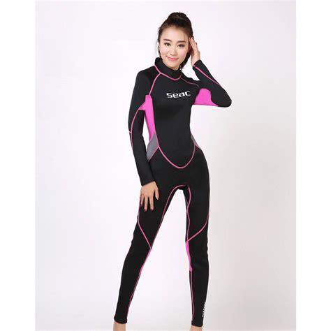 Osmoz Black Xs S 3mm neoprene wetsuit s suits diving suit pink