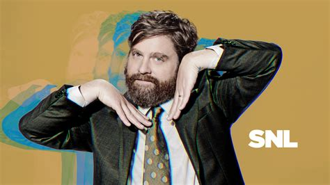 zach galifianakis on snl zach galifianakis with of monsters and men episodes