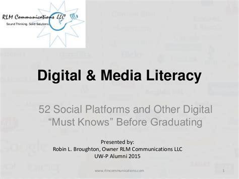 digital literacy social media pearltrees digital media literacy