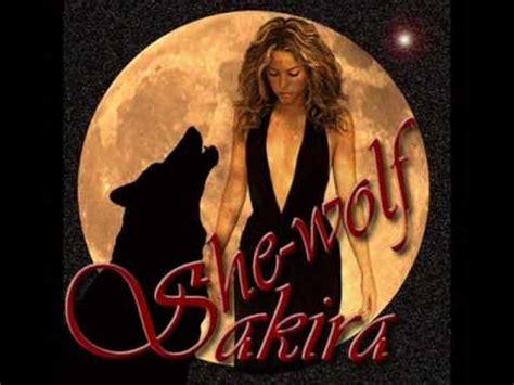 testo she wolf loba she wolf version shakira musica e