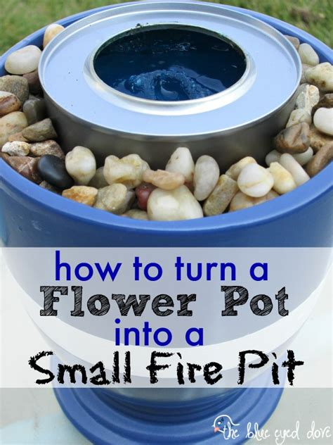 make your own portable pit make your own small pit the blue eyed dove