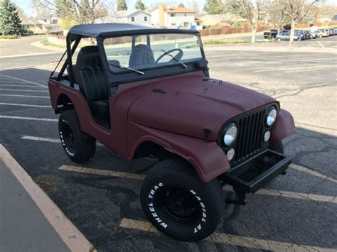 Chevy Jeep Jeep Cj5 New V8 Conversion With A Chevy 350