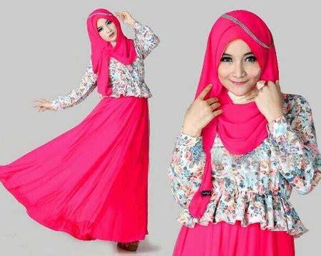 23 Pakain Muslim Untuk Wanita Warna Pink tips memadukan warna baju dengan kerudung ide model busana