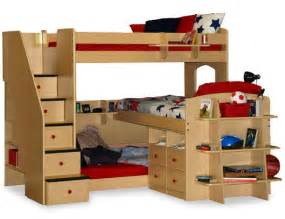 Bunk Bed With 3 Beds Bunk Bed Design Ideas Home Design Garden Architecture Magazine