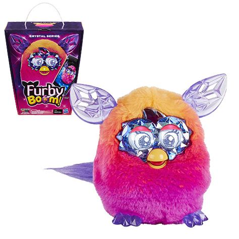 Furby Boom Orange Plush furby boom series orange to pink hasbro furby