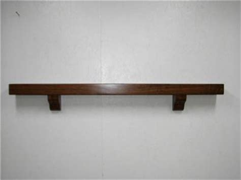 mantel fireplace shelf mantel cherry with brackets