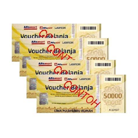 Daftar Parfum Di Alfamart jual alfamart voucher belanja rp 100 000 harga