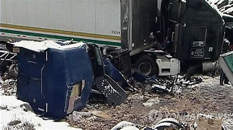 Mullins Jeep 加 보안수송 트럭 사고 도로에 동전 500만弗 뉴스zum