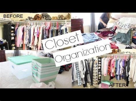 closet organization  declutter  master closet