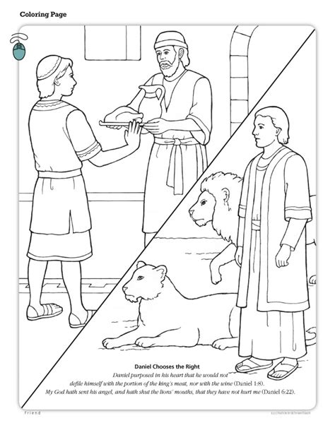 lds coloring pages fasting coloring pictures of daniel fasting coloring pages