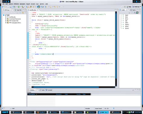 tutorial php eclipse jonathan antivo php eclipse editor