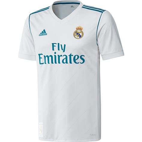 Jersey Go Real Madrid adidas real madrid 2017 18 home replica jersey