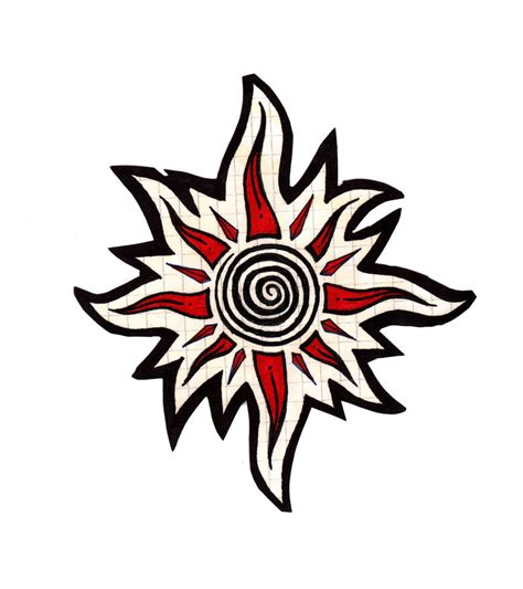 tribal sun tattoos best tatto design october 2012