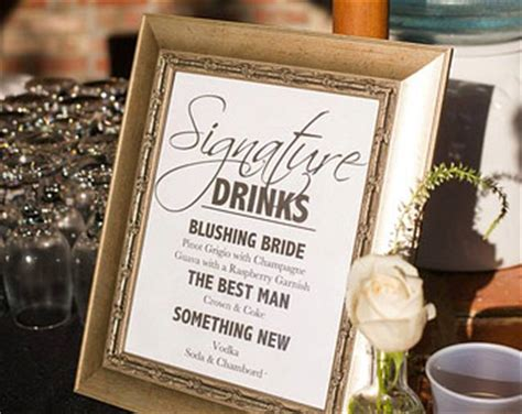 popular items for signature drink on etsy