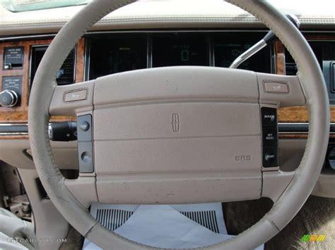 lincoln town car steering wheel 1993 lincoln town car signature steering wheel photos