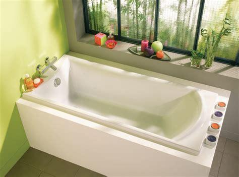 photo de baignoire baignoire concerto 2 170x75 cm alterna salle de bain
