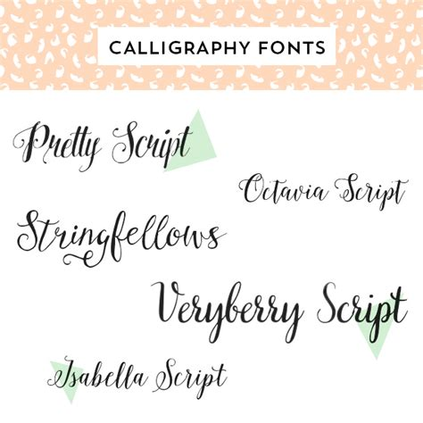 Wedding Font Try by Hearts Calligraphy Script Fonts