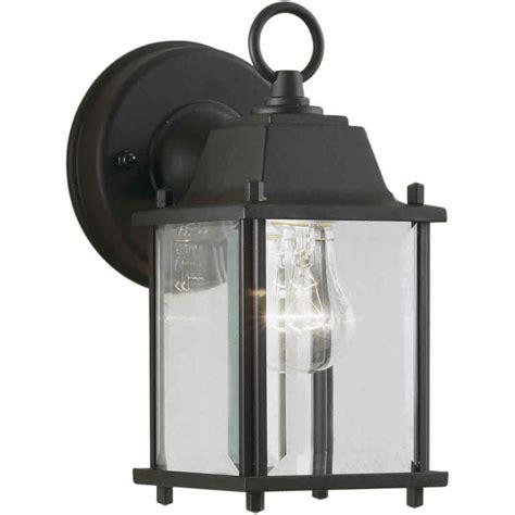 Outdoor Wall Lights Home Depot Filament Design Burton 1 Light Outdoor Black Wall Lantern Cli Frt1705 01 04 The Home Depot