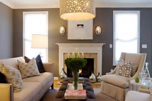 Living Rooms With Gray Walls Gray Walls Contemporary Living Room Pratt And