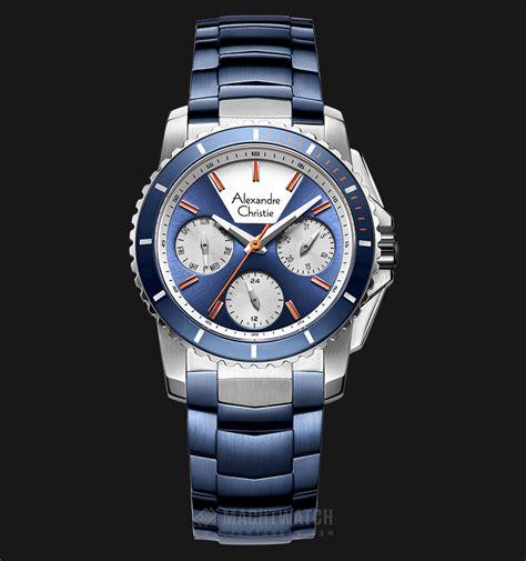 Alexandre Christie 2604 Blue alexandre christie ac 6455 bf btubu blue blue stainless steel jamtangan