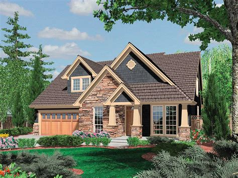 charming craftsman cottage house plan house style and