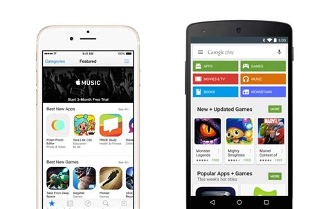 Play Store Vs App Store Revenue Cult Of Android Play Gets As Many Downloads