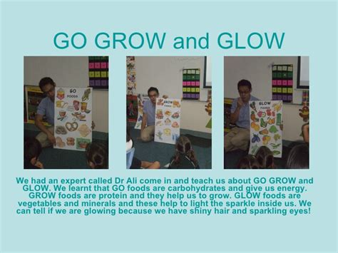 Planning Go And Grow | go grow and glow