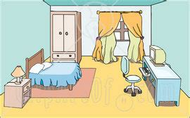 My Bedroom Clipart Exercises The House
