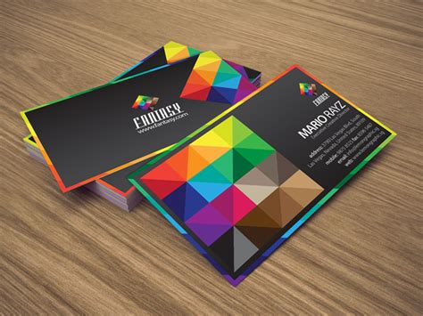 Color Business Cards