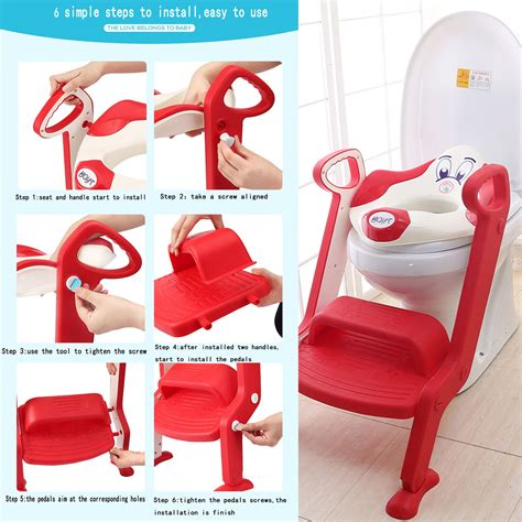 potty seat for toilet baby toddler toilet potty seat 2 step ladder